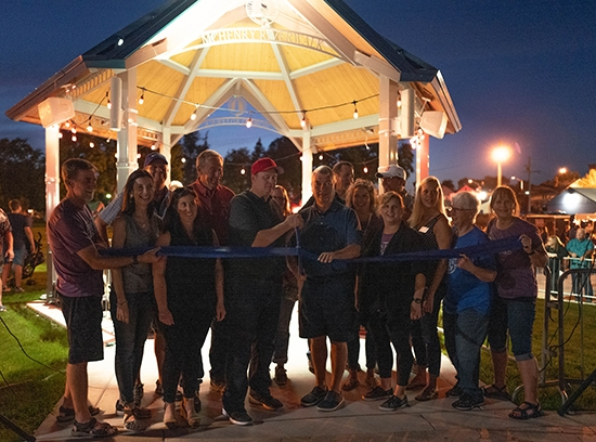 Miller Point Ribbon Cutting