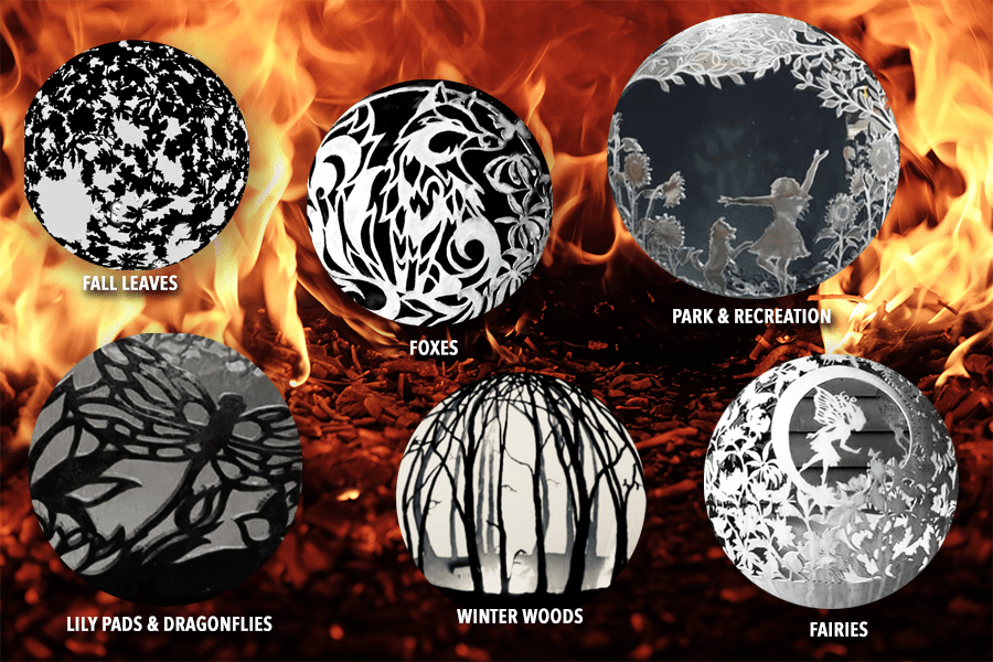 Phase 2 Fire Globe Examples